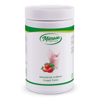 Frappe-Erdbeer Milchdrink gesüsst, 500gr