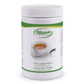 Klare Suppenpulver fettfrei mit Meersalz,   800 g