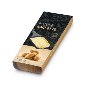 Raclette Käse Nature 8 Scheinben, 300g