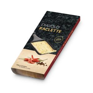 Raclette Käse Diavolo6 Scheiben, 200g