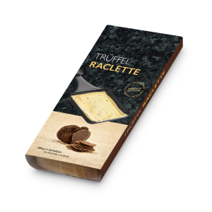 Raclette Käse Trüffel Scheiben, 200g
