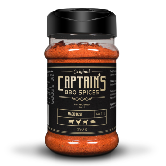 Captains BBQ Spice - Magic Dust, 190g