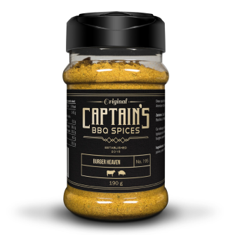 Captains BBQ Spice - Burger Heaven, 190g