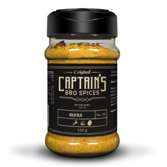 Captains BBQ Spice - Aglio Olio, 150g