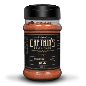 Captains BBQ Spice - Steak Pfeffer, 200g