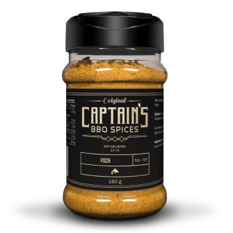 Captains BBQ Spice - Fisch, 180g