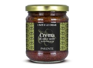 Antipasti - Crema di olive nere (schwarze Olivencreme), 190g