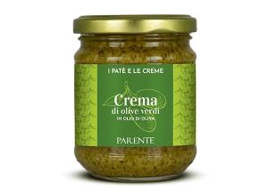 Antipasti - Crema di olive verdi (grüne Olivencreme), 190g