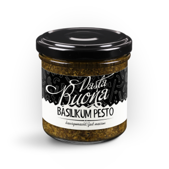 PastaBuona - Basilikum Pesto, 130g