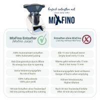 MimoMix - MixFino Dampfentsafter-Aufsatz für Thermomix TM6, TM5, TM31 und TM Friend