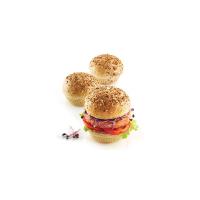 MimoMix - Burger Backform D80mm, 6 Nutzen